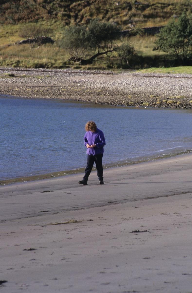 On the beach at Camus nan Gael