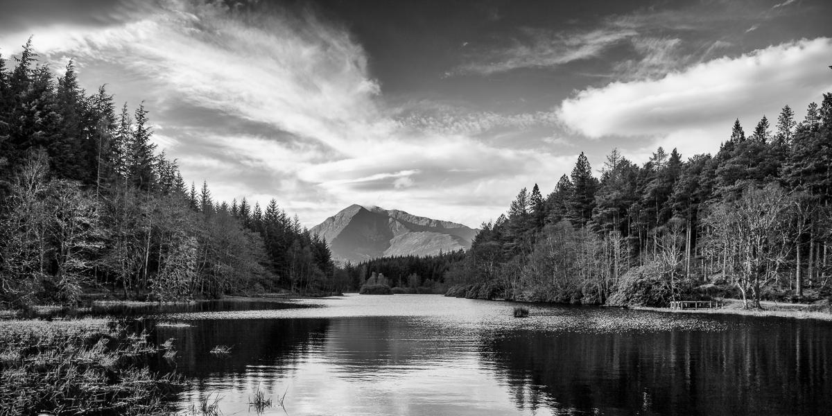 Sgorr Dhearg from Glencoe Loch