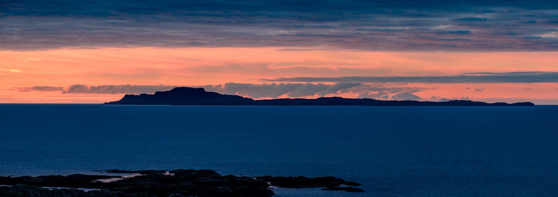 Sunset over Muck